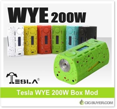 Tesla WYE 200W Box Mod