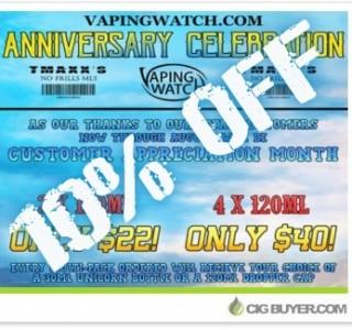 vaping-watch-120ml-ejuice-anniversary-sale
