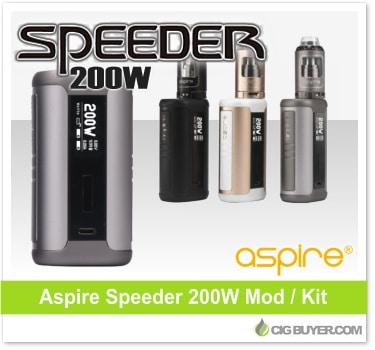 Aspire Speeder 200W Box Mod / Kit
