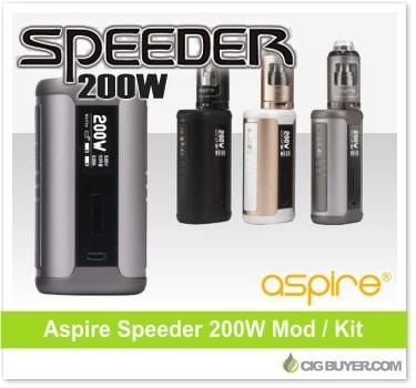Aspire Speeder 200W Box Mod / Kit