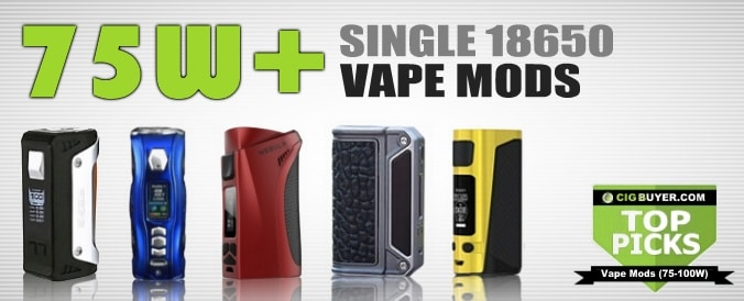 Top Picks for Best 75W-100W Box Mods