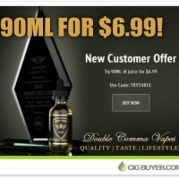Double Comma Vapes New Customer E-Juice Deal – 90ml for $6.99!