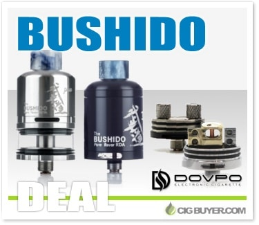 Dovpo Bushido II RDA / RDTA Plus Deal