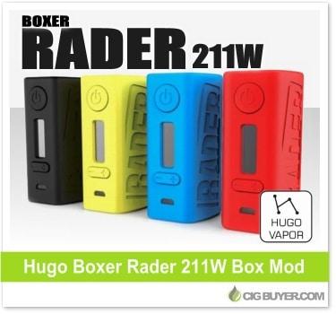 Hugo Vapor Boxer Rader 211W Box Mod