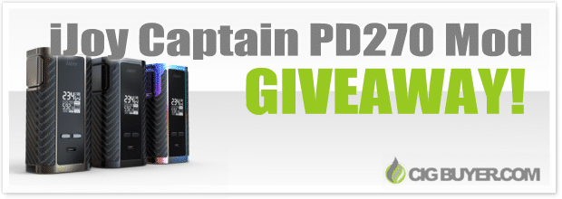 IJoy Captain PD270 Box Mod Giveaway