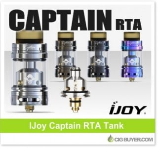 IJoy Captain RTA Tank – $21.95