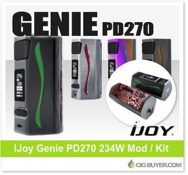 IJoy Genie PD270 Box Mod / Kit
