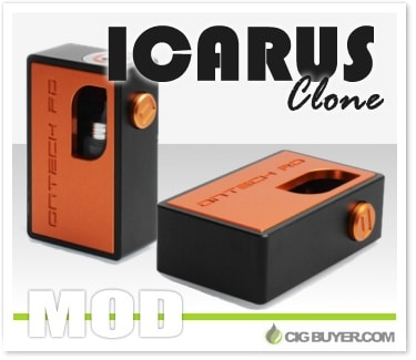 Ontech Rd Icarus Mechanical Squonk Mod Clone