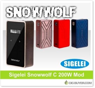 Sigelei Snowwolf 200W C Box Mod
