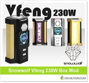 Sigelei Snowwolf Vfeng 230W Box Mod