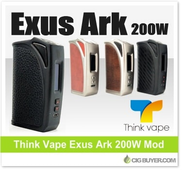 Think Vape Exus Ark 200W Box Mod (MKL200)