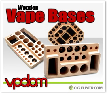 Vpdam wooden vape display bases cig for Vape craft coupon code