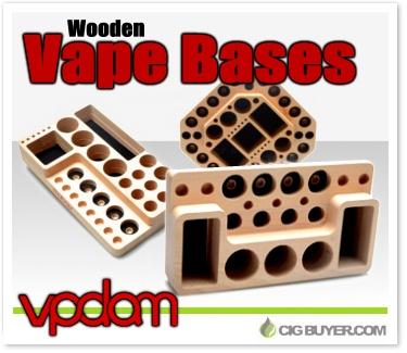 VPDAM Wooden Vape Display Bases
