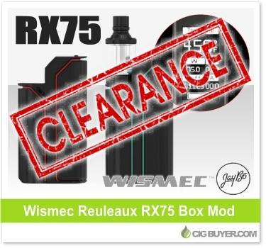 Wismec Reuleaux RX75 Mod Kit Deal