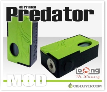 Yiloong Predator 3D Mechanical Squonk Box Mod