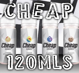 Cheap 120ml E-Juice Options