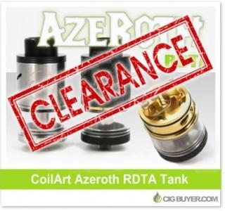 CoilArt Azeroth RDTA Tank – ONLY $10.99!
