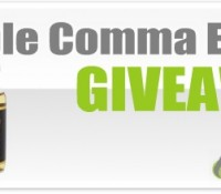Double Comma Vapes E-Liquid Giveaway