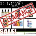 Eight Vape Clearance E-Liquid – Up to 80% OFF!