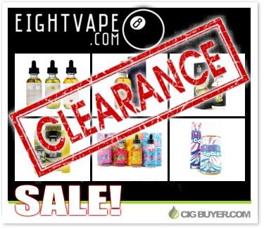 Eight Vape Clearance E-Liquid