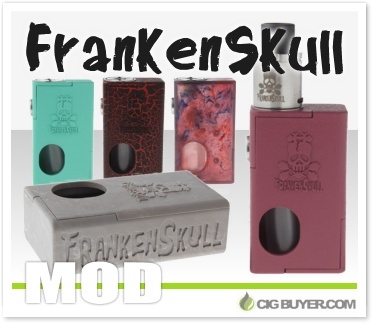FrankenSkull Mechanical Squonk Box Mod