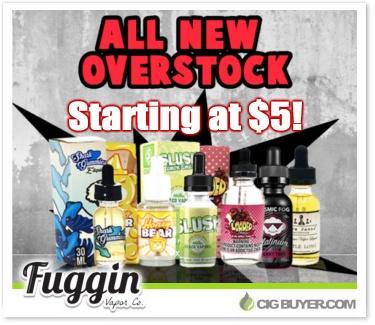 Premium E-Juice Overstock Sale