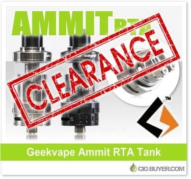 Geekvape Ammit RTA Tank Deal
