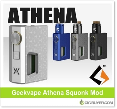 Geekvape Athena Squonk Box Mod / Kit