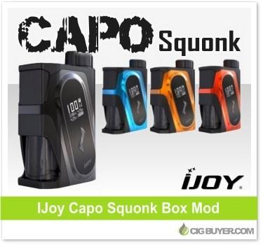 IJoy Capo Squonk Box Mod / Kit