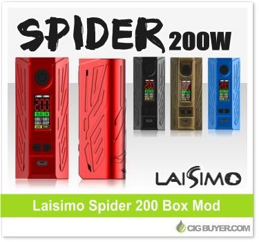 Laisimo Spider 200 Box Mod