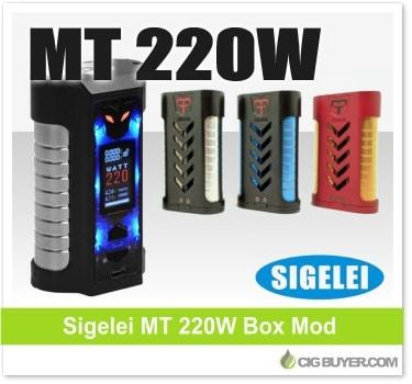 Sigelei MT 220W Box Mod / Kit