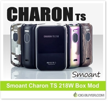 Smoant Charon TS 218W Box Mod