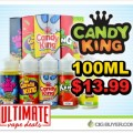 40% OFF Candy King E-Juice – 100ml for Only $13.99!