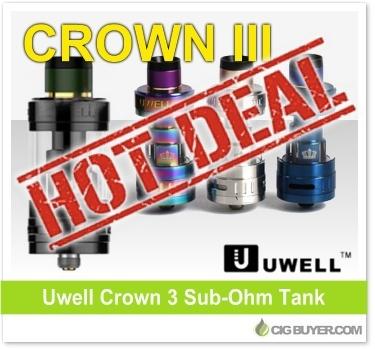 Uwell Crown 3 Tank Deal