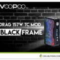 Voopoo Drag 157W Box Mod (Black) – $44.90