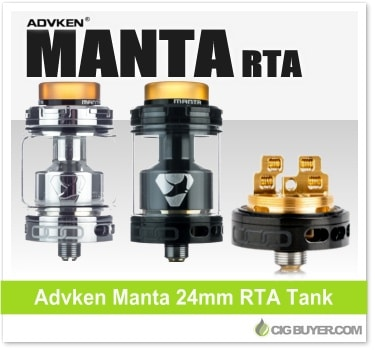 Advken Manta RTA Tank