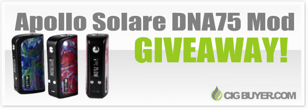 Apollo Solare DNA75 & CTRL 80W Mod Giveaway