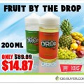 Fruit By The Drop E-Juice Deal – 200ML FOR $14.87!!!