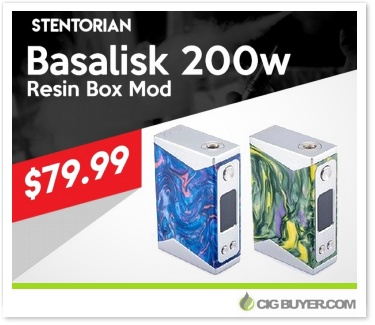 Stentorian Basalisk 200W Box Mod