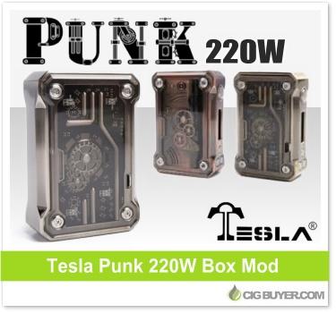 Tesla Punk 220W Box Mod