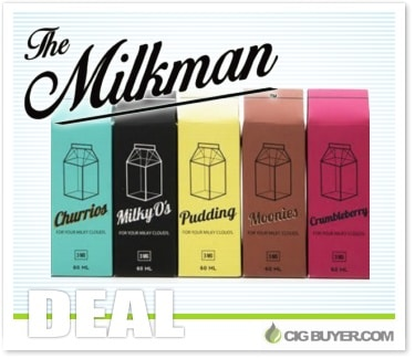 The Milkman E-Liquid Deal