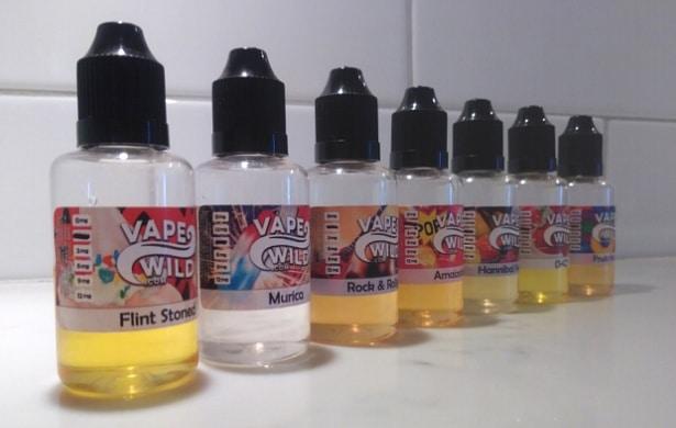 Vape Wild E-Liquid Flavors