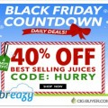 Breazy.com Black Friday Countdown – 40% OFF Best Selling E-Juice!