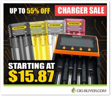 Smok & Nitecore Battery Charger Sale