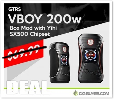 GTRS VBOY 200W Box Mod