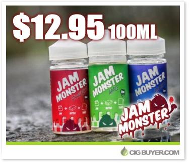 Jam Monster E-Liquid Deal