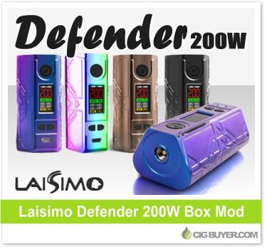 Laisimo Defender 200W Box Mod