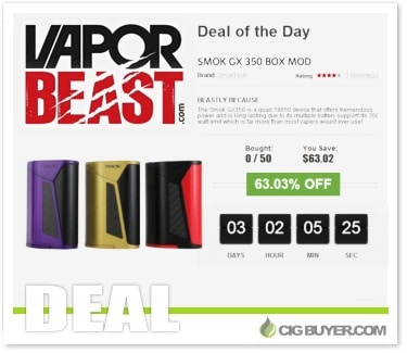 Smok GX350 Box Mod Deal