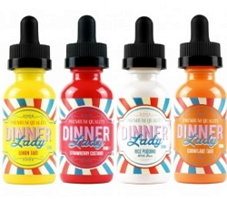 Dinner Lady E-Juice | The Best Vape Juice Companies and E Cig Juice Brands in 2020