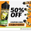 50% OFF Freeman Vape Juice – 30ml for $4.49 / 120ml for $9.99